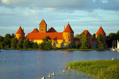 El castillo. Imagen de archivo