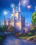 El castillo ilustración del vector