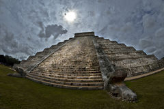 El Castillo Стоковые Фотографии RF