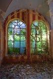El castillo abandonado Fotografía de archivo