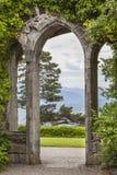 El castillo arruina Armadale en Skye Imagen de archivo