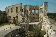 El castillo arruina el kazimierz Foto de archivo