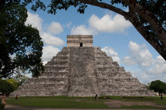 El Castillo-Chichen Itza Royalty Free Stock Images
