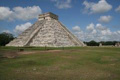 El Castillo-Chichen Itza Stock Images