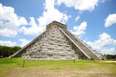 El Castillo - Chichen Itza Stock Photo