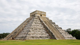 El Castillo in Chichen Itza Royalty Free Stock Photography