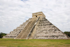 El Castillo in Chichen Itza Stock Photos