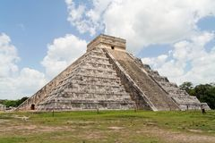El Castillo Chichen Itza Mexico Stock Images