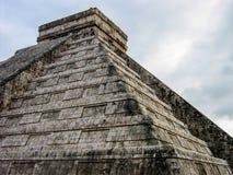 El Castillo Chichen Itza, Mexico Arkivfoton