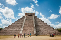 El Castillo - Chichen Itza, Mexico Royalty Free Stock Photos
