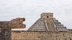 El Castillo in Chichen Itza Royalty Free Stock Image
