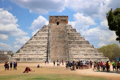 El Castillo, Chichen Itza Royalty Free Stock Image