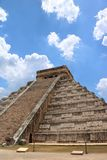 El Castillo, Chichen Itza. El Castillo Spanish for `the castle`, also known as the Temple of Kukulcan, is a Maya pyramid that dominates the center of the Chichen Royalty Free Stock Image