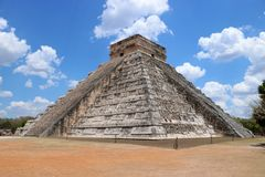 El Castillo, Chichen Itza Stock Photo