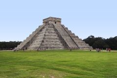 El Castillo in Chichen Itza Stock Photo