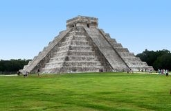 El Castillo in Chichen Itza Stock Image