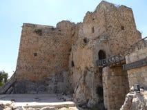 El castillo de Ajloun imagen de archivo libre de regalías