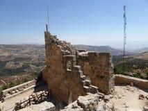 El castillo de Ajloun foto de archivo libre de regalías