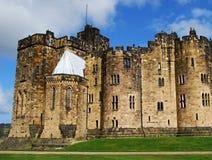 El castillo de Alnwick Foto de archivo libre de regalías
