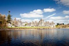 El castillo de Ashford del siglo XIII en Cong - Irlanda. Fotografía de archivo libre de regalías
