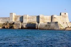 El castillo de Bozcaada foto de archivo libre de regalías