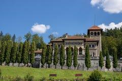 El castillo de Cantacuzino imágenes de archivo libres de regalías