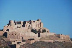 El castillo de Cardona Imagen de archivo libre de regalías