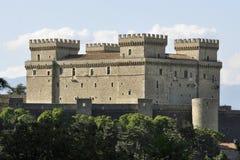 El castillo de Celano Foto de archivo libre de regalías