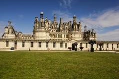 El castillo de Chambord está situado en el Loir-et-Cher, Francia. Tiene un ver Foto de archivo