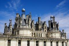 El castillo de Chambord está situado en el Loir-et-Cher, Francia. Tiene un ver Imágenes de archivo libres de regalías