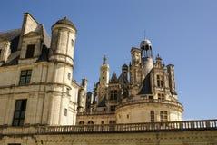 El castillo de Chambord está situado en el Loir-et-Cher, Francia. Tiene un ver Imagen de archivo libre de regalías
