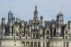 El castillo de Chambord está situado en el Loir-et-Cher, Francia. Tiene un ver Fotografía de archivo libre de regalías