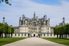 El castillo de Chambord está situado en el Loir-et-Cher, Francia. Tiene un ver Imagen de archivo