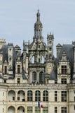 El castillo de Chambord está situado en el Loir-et-Cher, Francia. Tiene un ver Fotografía de archivo