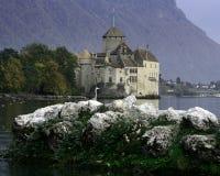 El castillo de Chillon Foto de archivo libre de regalías
