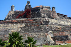 Cartagena Fortress Royalty Free Stock Images