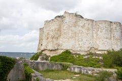 El castillo de Gaillard permanece fotografía de archivo