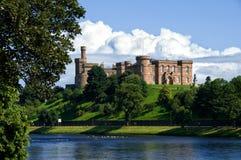 Castillo Escocia de Inverness Foto de archivo libre de regalías