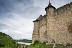 El castillo de Khotyn Imagen de archivo libre de regalías