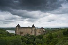 El castillo de Khotyn Imágenes de archivo libres de regalías