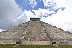 El Castillo de Kukulcan Royalty Free Stock Photography