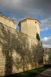 El castillo de la moraleja y Boabdil se elevan en provincia de Lucena, Córdoba, Andalucía, España foto de archivo