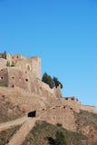 El castillo de las paredes de Cardona Fotografía de archivo libre de regalías