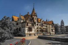 El castillo de Leshna fotos de archivo libres de regalías