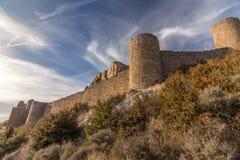 El castillo de Loarre foto de archivo