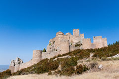 El castillo de Loarre Imagen de archivo