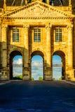El castillo de Lunevillet, Lorena, Francia Foto de archivo libre de regalías