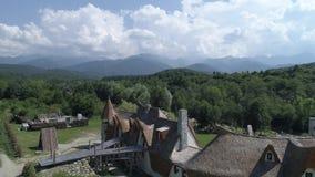 El castillo de Lut In Sibiu almacen de video