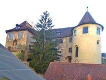 El castillo de Meersburg Imagen de archivo libre de regalías