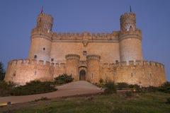 El castillo de Mendoza Fotografía de archivo